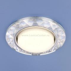 1061 GX53 CL прозрачный Электростандарт Встраиваемый точечный светильник
