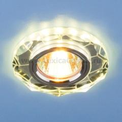 2120 MR16 SL зеркальный/серебро Электростандарт Встраиваемый потолочный светильник со светодиодной подсветкой