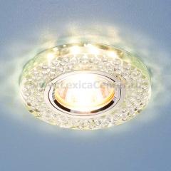 2140 MR16 SL зеркальный/серебро Электростандарт Встраиваемый потолочный светильник со светодиодной подсветкой