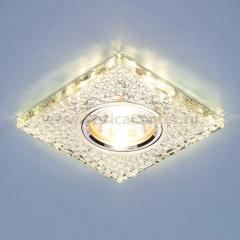 2150 MR16 SL зеркальный/серебро Электростандарт Встраиваемый потолочный светильник со светодиодной подсветкой
