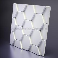 3D Дизайнерская панель из гипса Artpole BEE, 600*600мм, 0,36м2 (арт.М-0040)