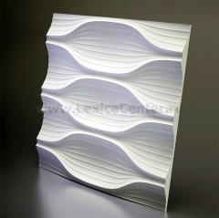 3D Дизайнерская панель из гипса Artpole BLADE, 600x600 мм, 0,36 м2 (арт.M-0010)