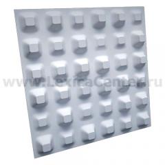 3D Дизайнерская панель из гипса Artpole CHAOS, 600x600 мм, 0,36 м2 (арт.M-0013)