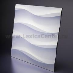 3D Дизайнерская панель из гипса Artpole COTTON, 600*600мм, 0,36м2 (арт.М-0041)