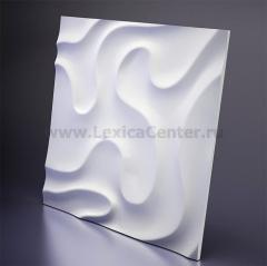 3D Дизайнерская панель из гипса Artpole FOG -1, 600x600 мм, 0,36 м2. (арт.D-0001-1)