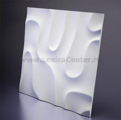 3D Дизайнерская панель из гипса Artpole FOG -2, 600x600 мм, 0,36 м2. (арт.D-0001-2)