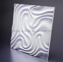 3D Дизайнерская панель из гипса Artpole Foggy -1, 650x650 мм, 0,4225 м2 (арт.D-0004-1)