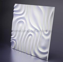 3D Дизайнерская панель из гипса Artpole Foggy -2, 650x650 мм, 0,4225 м2 (арт.D-0004-2)