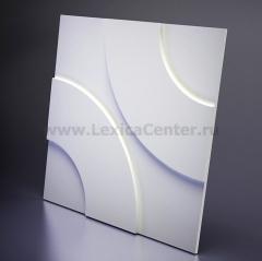 3D Дизайнерская панель из гипса Artpole HOOP, 600x600 мм, 0,36 м2 (арт.M-0022)