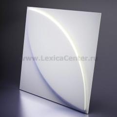 3D Дизайнерская панель из гипса Artpole PLANT, 600x600 мм, 0,36 м2 (арт.M-0021)