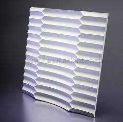 3D Дизайнерская панель из гипса Artpole RUFFLE 600*600мм, 0,36м2 (арт.M-0033)