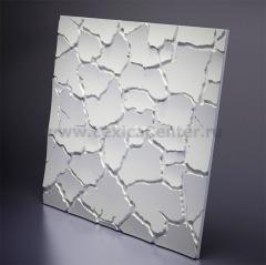 3D Дизайнерская панель из гипса Artpole SAHARA, 600x600 мм, 0,36 м2 (арт.M-0005)