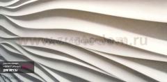 3D Дизайнерская панель из гипса Artpole SILK-2, 600x600 мм, 0,36 м2 (арт.D-0002-2)