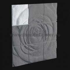 3D Дизайнерское панель из гипса Artpole ROSE-1, 600*600мм, 0,36м2 (арт.М-0044-1)