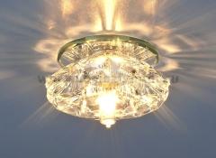 6186 G9 CL прозрачный Электростандарт Точечный светильник