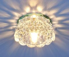 6240 зеркальный / прозрачный (Clear) Электростандарт Точечный светильник