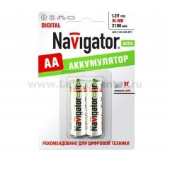 Аккумулятор Navigator 94 463 NHR-2100-AA-BP2