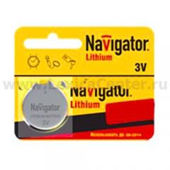 Батарейка CR1620 Navigator 94 780 NBT-CR1620-BP5