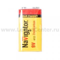 Батарейка крона 9V Navigator 94 762 NBT-NS-6F22-SH1