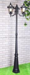 Capella F/3 черный Электростандарт Светильник трехрожковый на столбе