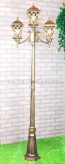 Cassiopeya F/3 черное золото Электростандарт Светильник уличный