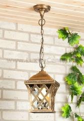 Cassiopeya H черное золото Электростандарт Подвесной уличный светильник