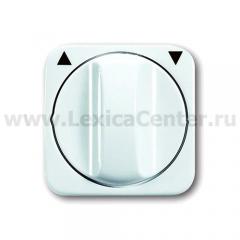 Центральная плата с ручкой для выключателя жалюзи альпийский белый Reflex SI (ABB) [BJE2542 DR-214] 1753-0-2264