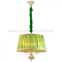 Чехол для люстры бархатный малахит (зеленый)