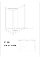 Душевое ограждение SR-1302 (R,L)