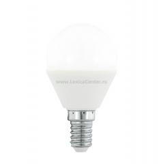 Eglo 10682 Лампа светодиодная диммируемая RGB P45, с пультом упр-я, 4W (E14), 3000K, 300lm