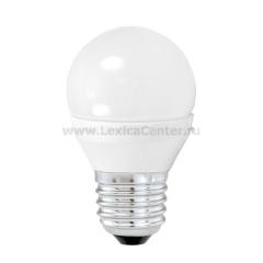 Eglo 10762 Лампа светодиодная G45, 4W (Е27), 3000K, 320lm