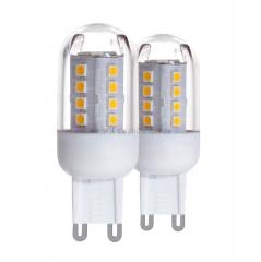 Eglo 11513 Лампа светодиодная, 2х2,5W (G9), 3000K, 300lm, 2шт. в комплекте, 300lm