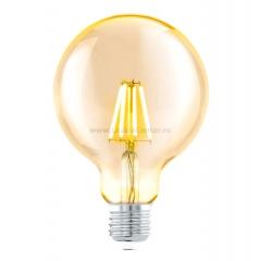 Eglo 11522 Cветодиодная лампа филаментная G95, 1х4W (E27), ?95, L145, 2200K, 330lm, янтарь