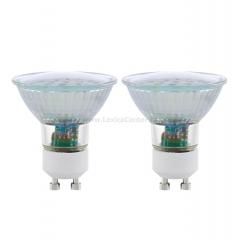 Eglo 11537 Лампа светодиодная SMD, 2х5W (GU10), 3000K, 400lm, 2 шт. в комплекте