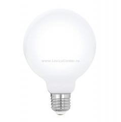 "Eglo 11599 Лампа светодиодная филаментная ""Милки""G95, 5W (E27), 2700K, 470lm, опал. стекло"