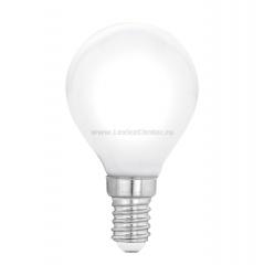 "Eglo 11604 Лампа светодиодная филаментная ""Милки"" P45, 4W(E14), 2700K, 470lm, опал. стекло"