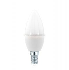 "Eglo 11643 Лампа светодиодная ""Свеча"", 5,5W (E14), 3000K, 470lm"