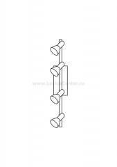 Eglo ARES 1 86216 Светильник поворотный спот