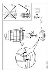 Eglo BAMPTON 49288 Настольная лампа