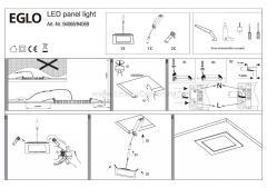 Eglo FUEVA 1 94069 Встраиваемые и накладные светильники
