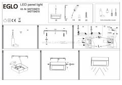 Eglo FUEVA 1 94077 Встраиваемые и накладные светильники