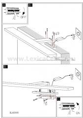 Eglo IMENE 92095 светильник для ванной комнаты и зеркал