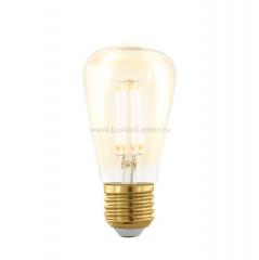EGLO ИС 11695 Лампа светодиодная филаментная диммируемая ST48, 4W (E27), 1700K, 320lm, золотая