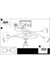 Eglo LOCANDA 94252 Настенно-потолочный светильник