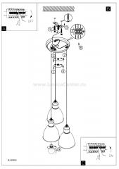 Eglo PRIDDY 49465 Подвесной светильник