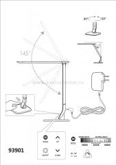 Eglo SELLANO 93901 Офисные настольные лампы