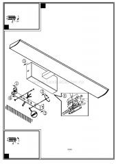 Eglo TABIANO 94612 светильник для ванной комнаты и зеркал