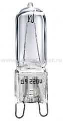 G9 220 В 50 Вт прозрачная Электростандарт Лампа галогенная