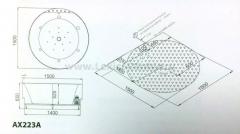 Гидромассажная ванна AX223A/С