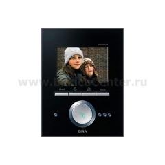 Gira Черное Стекло Видеотерминал с TFT-дисплеем (G260005)